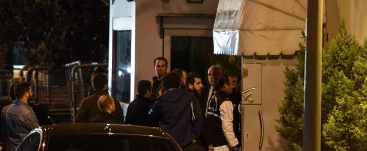 دخول شرطة اسطنبول القنصلية السعودية بتركيا