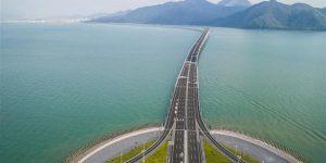 افتتاح أطول جسر مائي في العالم بالصين