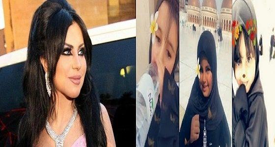 حليمة بولند برفقة ابنتيها لتأدية مناسك العمرة