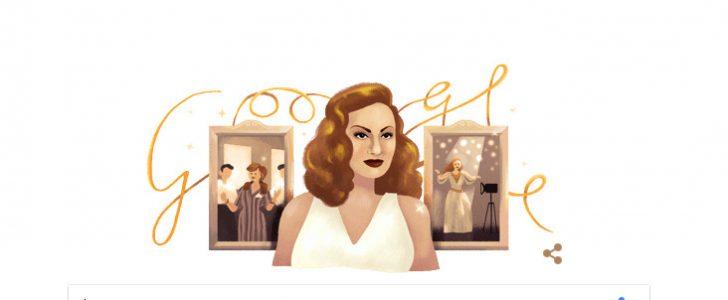 جوجل و عيد ميلاد هند رستم الـ 87