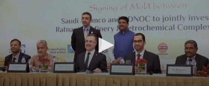 توقيع اتفاقية غاز بين السعودية والإمارات