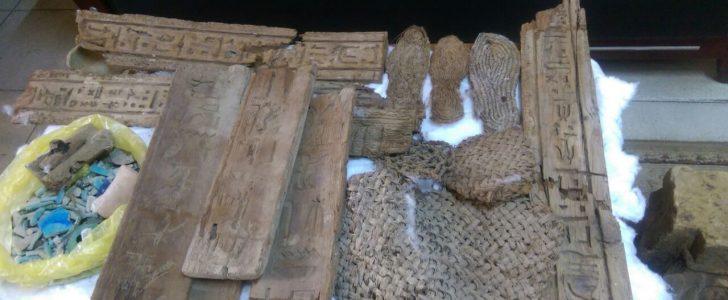 العثور على اكتشاف أثري جديد في مصر بالصدفة في مداهمة أمنية للصوص آثار