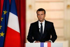 الرئيس الفرنسي يتوعد بمحاسبة المتسببين في بالإخلال بالأمن ومحاسبتهم